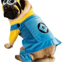Rubies Costume Printed Pet Costume, Despicable Me Minion