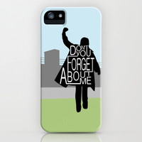 The Breakfast Club iPhone & iPod Case by Kimberly Sterling