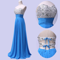 CHEAP Long Evening Prom Bridesmaid Dresses Formal Ball Gowns Banquet Sexy Dress
