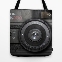 Camera II Tote Bag by Nicklas Gustafsson