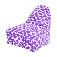 Printed Kick-It Chair - Links - Purple