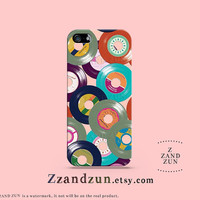 Colorful Vinyl iPhone Case Cover, iPhone 5s Case, iPhone Case 5c, iPhone Case 5 Case, iPhone 4S Case, iPhone 4 Case, Samsung Galaxy S3