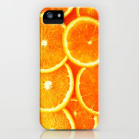 Orange - for iphone iPhone & iPod Case by Simone Morana Cyla