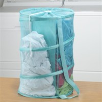 Dual Compartment Hamper - Dorm laundry bin multi-purpose college laundry hamper cheap dorm supplies college dorm room products