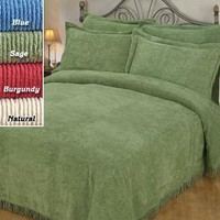 Ribbed Chenille Bedspreads @ Fresh Finds