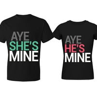 Aye Couple T-Shirt (Price of One)