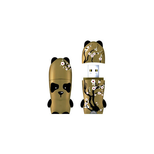 mimoco - Golden Panda MIMOBOT, Flash Drive (Select Your Size)