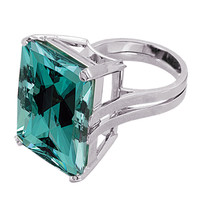 TAMIR Exotic Tourmaline Unveiled In A Platinum Ring.