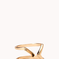 Cutout Craze Midi Ring