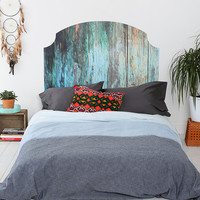 Wooden Headboard Wall Decal - Urban Outfitters