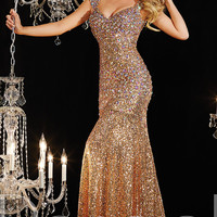 Floor Length Sequin Panoply Dress