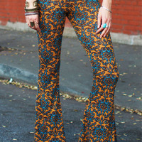 Sierra Bell Bottoms (Mustard)