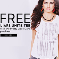 Pretty Little Liars - FEATURED SHOPS - Aeropostale
