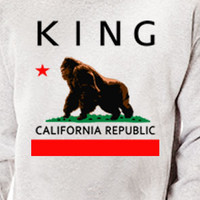 California Republic King Kong Crewneck