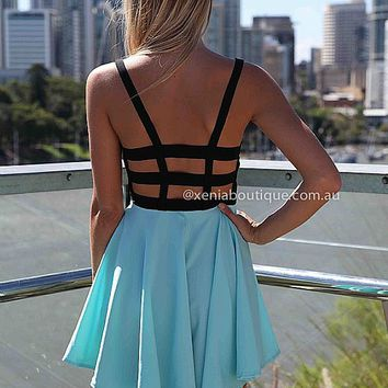 CINDERELLA DRESS , DRESSES, TOPS, BOTTOMS, JACKETS & JUMPERS, ACCESSORIES, 50% OFF SALE, PRE ORDER, NEW ARRIVALS, PLAYSUIT, COLOUR, GIFT VOUCHER,,Blue,LACE,CUT OUT,BACKLESS,SLEEVELESS Australia, Queensland, Brisbane