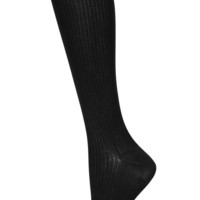 Black Slinky Knee High Socks