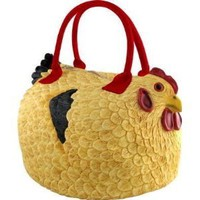 "Shopping | Rubber Chicken ""Hen Bag"" Totebag"