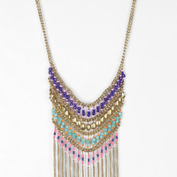 Nirvana Beaded Bib Necklace - Urban Outfitters