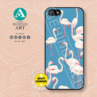 Pink flamingo, iPhone 5 case, iPhone 5C Case, iPhone 5S case, iPhone 4 Case, iPhone 4S Case, Samsung Galaxy S3 S4 case, BA0643