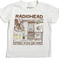 Chaser - Radiohead Infant & Toddler Shirt, Natural