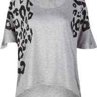 Amazon.com: FULL TILT Animal Hi Lo Womens Top: Clothing