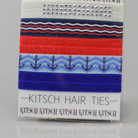 Anchors Away Hair Ties