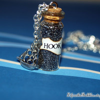 HOOK Magical Necklace with a Pirate Ship Charm, Disney's Peter Pan, Once Upon a Time, by Life is the Bubbles