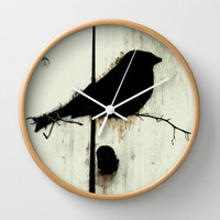 Early Bird - JUSTART © Wall Clock by JUSTART