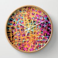 How About Now? Wall Clock by k_c_s