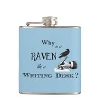 """Why is a Raven like a Writing Desk?"" Flask"