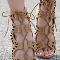 Anne Michelle Rapture-62 Gladiator Heels | MakeMeChic.com