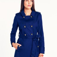 stergis trench - kate spade new york