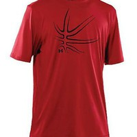 Under Armour Men's PTH Basketball Shirt Red XL
