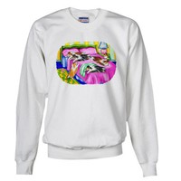 Sheltie Pink Comfort Pets Sweatshirt by CafePress