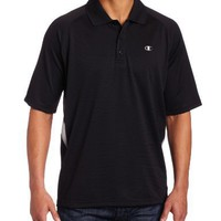 Champion Men's Double Dry Color Block Polo