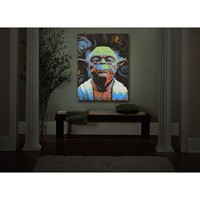 Ty Jeter's 'Yoda' | Illuminated Wall Art