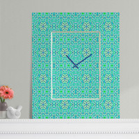 Lisa Argyropoulos Ariel Rectangular Clock