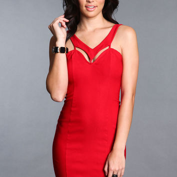 SPACE OUT BODYCON DRESS