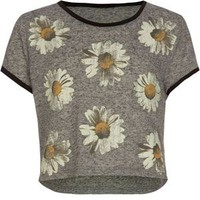 FULL TILT Daisy Girls Crop Tee