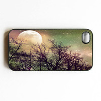 Iphone Case Magic Moon Moon Night Stars by SSCphotographycases