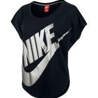 Nike Women's Metallic Signal Short Sleeve Shirt Dick's Sporting Goods