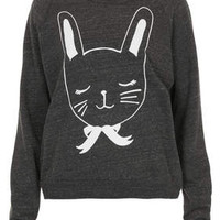 BUNNY TRI-YARN SWEAT