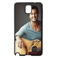 Cool Customized Popular Country Singer Luke Bryan Samsung Galaxy Note 3 Case Cover ,Plastic Shell Hard Back Cases For Fans At CBRL007