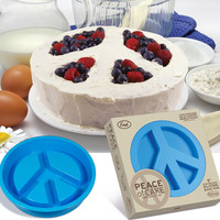 Peace Sign Cake Mold