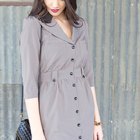 Kimberley Collared Tunic Dress