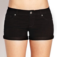 Basic Cuffed Shorts
