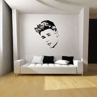 Justin Bieber Wall Art Vinyl Decal Sticker Mural Graphic