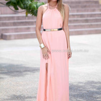 SUMMER DAYS MAXI , DRESSES, TOPS, BOTTOMS, JACKETS & JUMPERS, ACCESSORIES, 50% OFF SALE, PRE ORDER, NEW ARRIVALS, PLAYSUIT, COLOUR, GIFT VOUCHER,,MAXIS,Pink,BACKLESS,SLEEVELESS Australia, Queensland, Brisbane