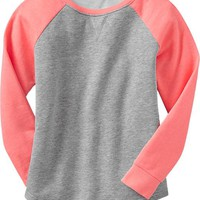Girls Raglan-Sleeve Sweatshirts