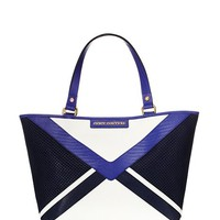 Sophia Leather Colorblock Tote